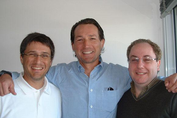 Ariel Lijtenstein, Pablo Elenter y Sergio Oberlander